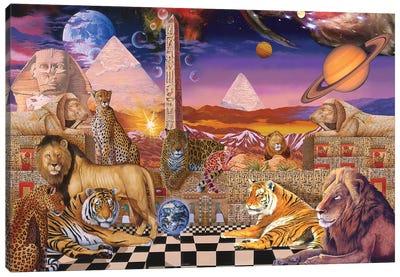 Pharoahspride Rip Canvas Art Print