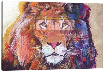 Rainbow Majesty Canvas Art Print