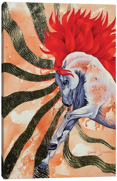 Red Stallion Canvas Art Print