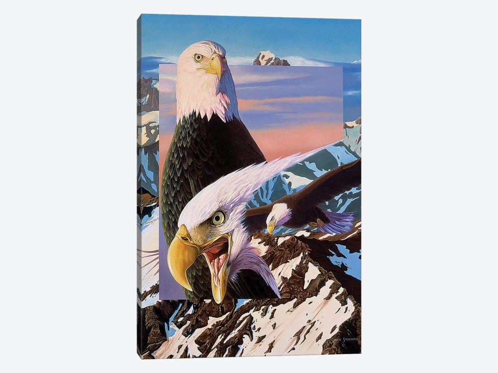 Screaming Eagles by Graeme Stevenson 1-piece Art Print