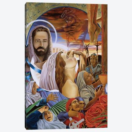 Sorrow Two Canvas Print #GST254} by Graeme Stevenson Canvas Print