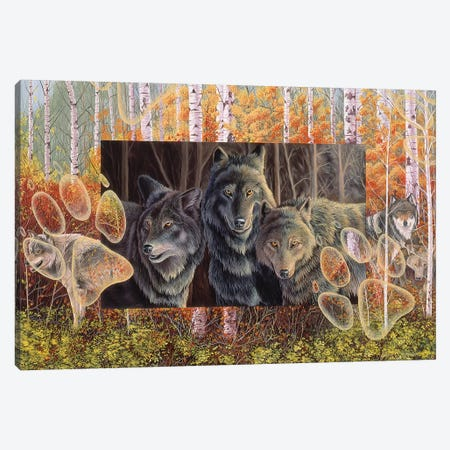 Step Lightly Canvas Print #GST259} by Graeme Stevenson Canvas Artwork