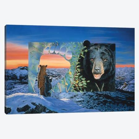 Sunset Watch Canvas Print #GST262} by Graeme Stevenson Art Print