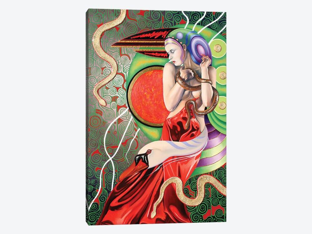 Temptation Of Eve by Graeme Stevenson 1-piece Canvas Print