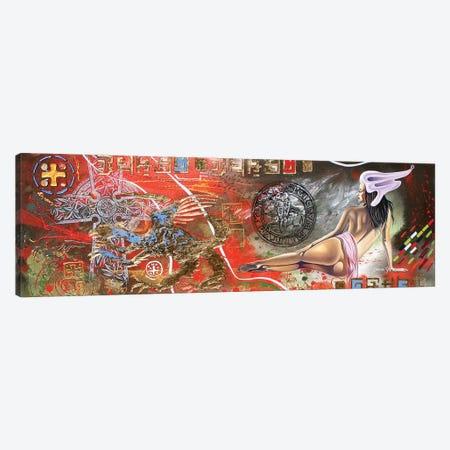 Temptress Of The Templers Canvas Print #GST267} by Graeme Stevenson Canvas Wall Art