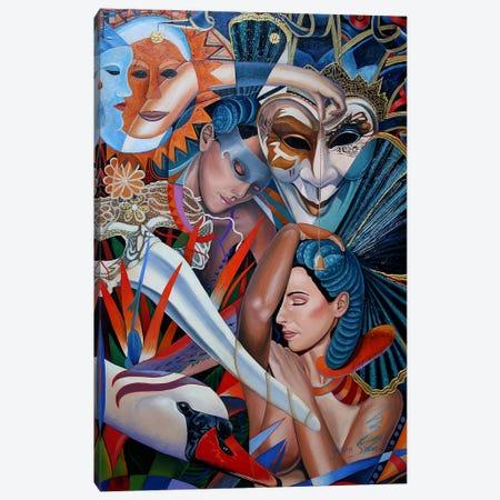That Night Canvas Print #GST269} by Graeme Stevenson Canvas Art Print
