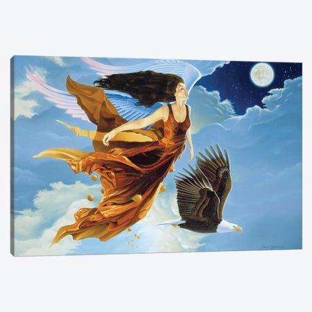 That Night In Heaven Canvas Print #GST270} by Graeme Stevenson Canvas Art