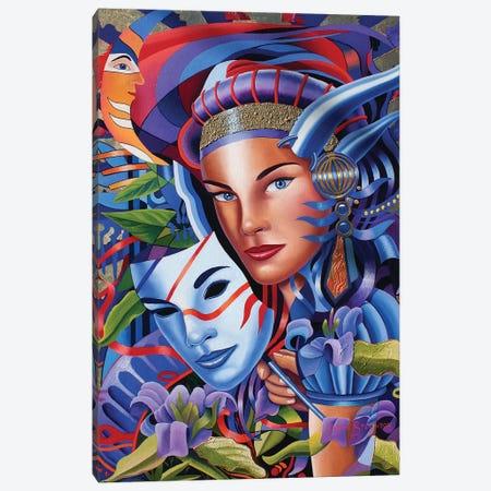 The Devil In Me I Canvas Print #GST278} by Graeme Stevenson Canvas Wall Art