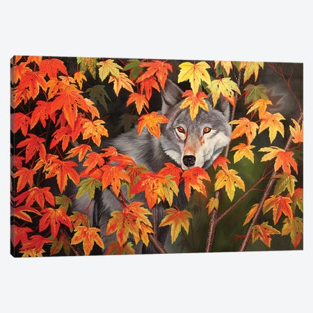 The Forest Ghost Canvas Print #GST282} by Graeme Stevenson Canvas Art Print