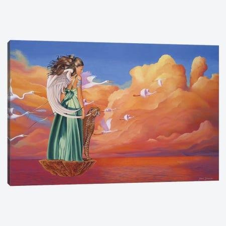 Heavens Gate Canvas Print #GST28} by Graeme Stevenson Canvas Art