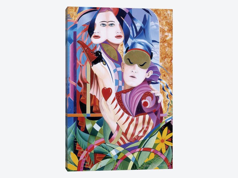 The Lovers by Graeme Stevenson 1-piece Canvas Artwork