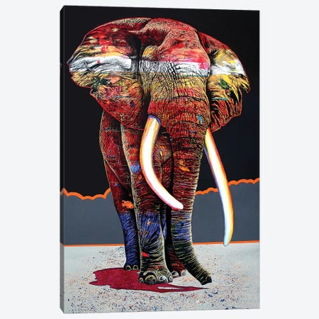The Magnificent One Canvas Print #GST296} by Graeme Stevenson Art Print