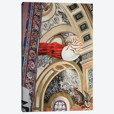 The Nature Of Fibonacci Canvas Print #GST298} by Graeme Stevenson Canvas Art