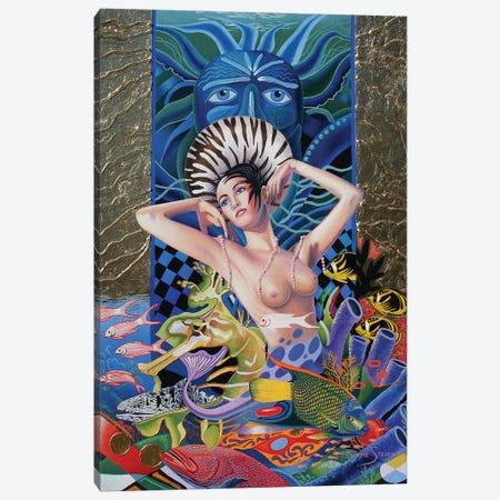 The Ocean Canvas Print #GST299} by Graeme Stevenson Canvas Art