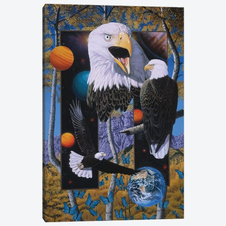The Power And The Glory Canvas Print #GST300} by Graeme Stevenson Canvas Artwork