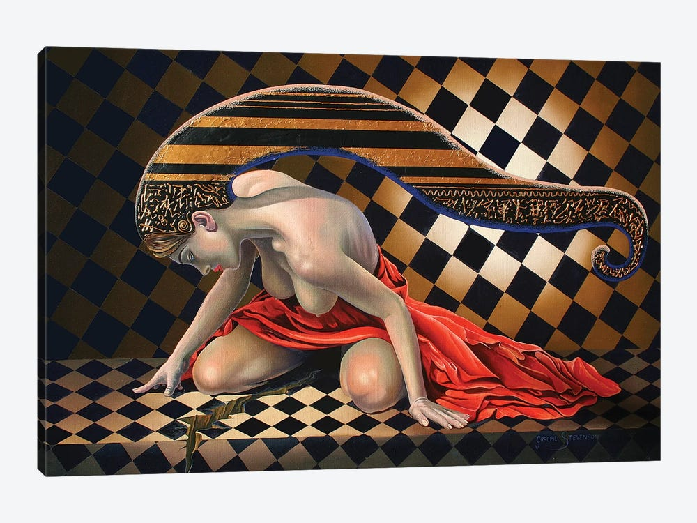 The Red Robe by Graeme Stevenson 1-piece Canvas Art