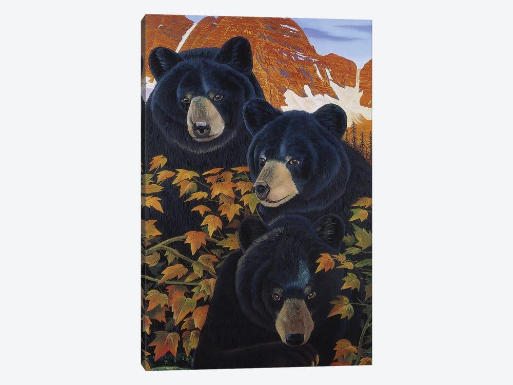 Threes Trouble by Graeme Stevenson 1-piece Art Print