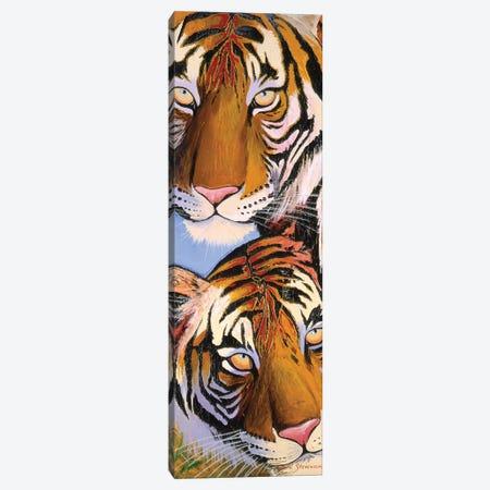 Tiger Tiger Canvas Print #GST321} by Graeme Stevenson Canvas Artwork