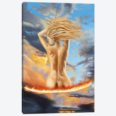 Too Hot To Handle Canvas Print #GST325} by Graeme Stevenson Canvas Art Print