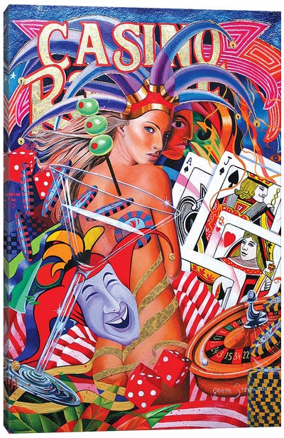 Viva Las Vegas I Canvas Art Print