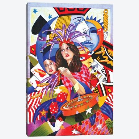 Viva Las Vegas II Canvas Print #GST336} by Graeme Stevenson Canvas Art
