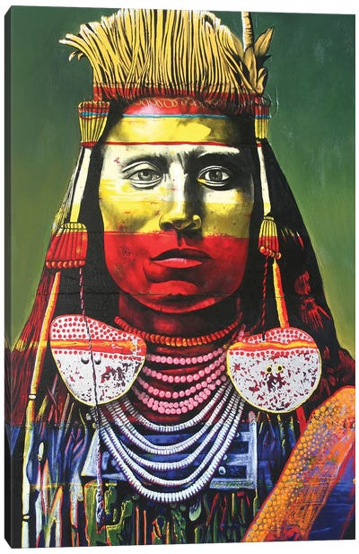Indian Chief Canvas Art Print