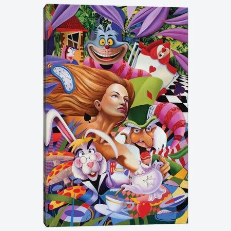 Wonderland Gang Canvas Print #GST345} by Graeme Stevenson Canvas Art Print