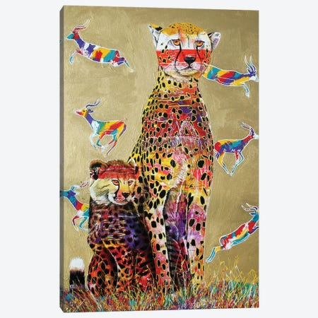 African Watch Canvas Print #GST3} by Graeme Stevenson Canvas Art