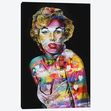 Miss M Canvas Print #GST43} by Graeme Stevenson Canvas Wall Art