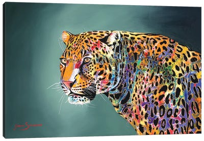 Morning Of The Jaguar Canvas Art Print