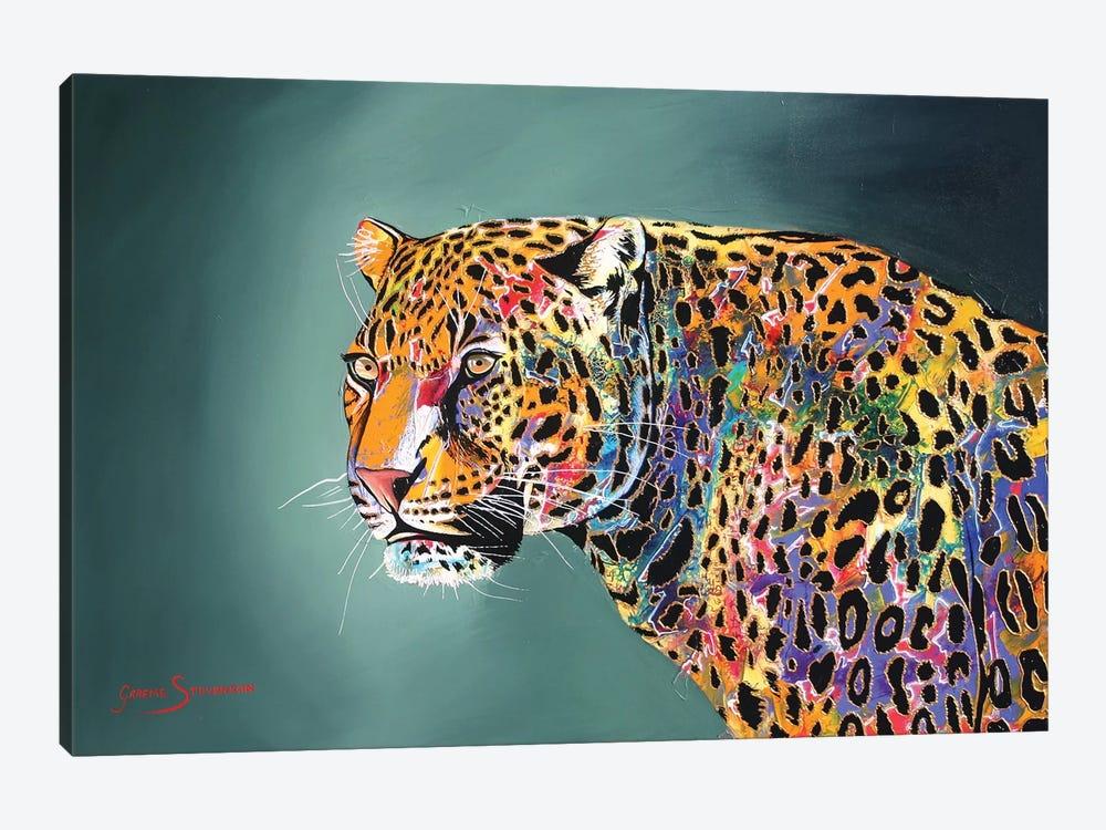 Morning Of The Jaguar by Graeme Stevenson 1-piece Canvas Art Print