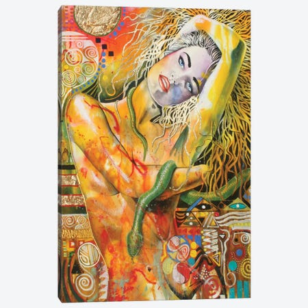 Ode To Klimt Canvas Print #GST49} by Graeme Stevenson Canvas Wall Art