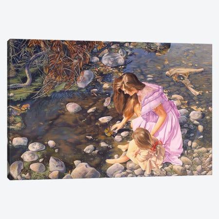 Age Of Innocence Canvas Print #GST4} by Graeme Stevenson Art Print