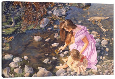 Age Of Innocence Canvas Art Print