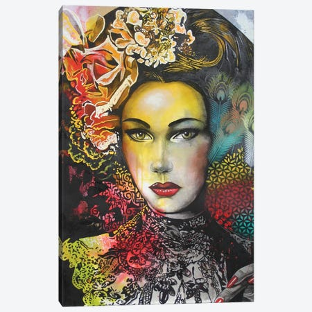 One Night In Bangkok Canvas Print #GST51} by Graeme Stevenson Art Print
