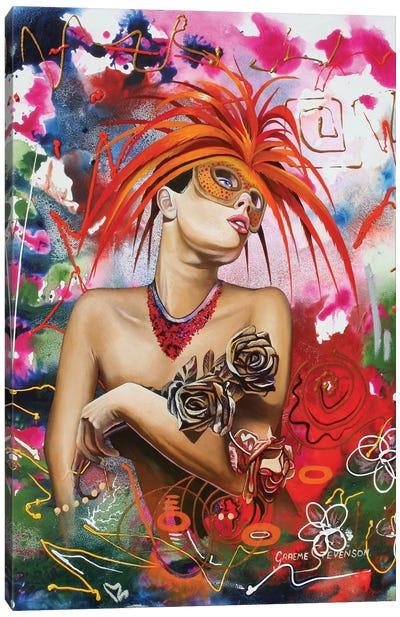 Rainbow Girl Canvas Art Print