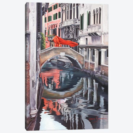 The Blood Of Venice Canvas Print #GST65} by Graeme Stevenson Canvas Print