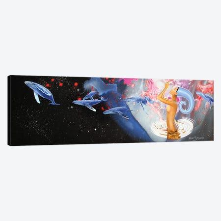Universal Waters Canvas Print #GST69} by Graeme Stevenson Canvas Wall Art