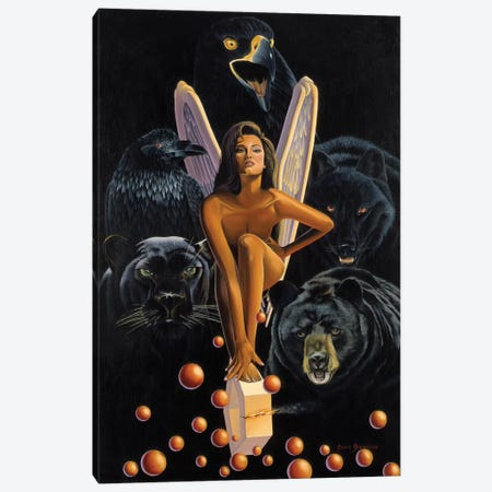 Vengance Is Mine Canvas Print #GST72} by Graeme Stevenson Canvas Art Print