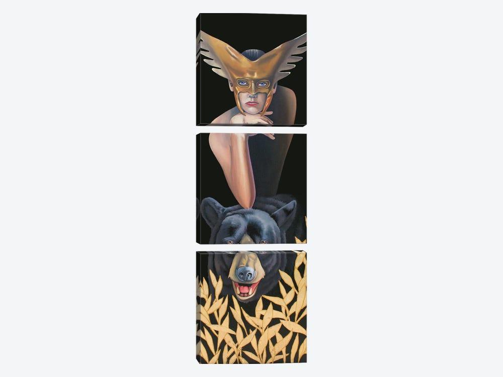 Wilderness Guardian by Graeme Stevenson 3-piece Canvas Artwork