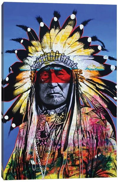 Wisdom Of The Warrior Canvas Art Print