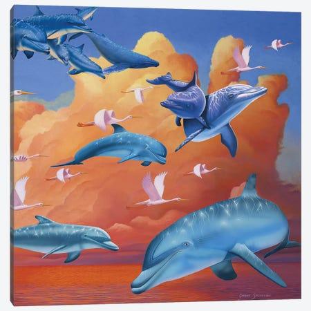 Possibilities 3-Piece Canvas #GST81} by Graeme Stevenson Canvas Art