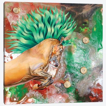 The Emerald Prince Canvas Print #GST84} by Graeme Stevenson Art Print