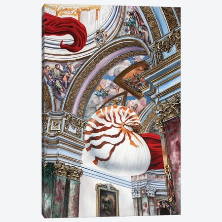 The Dark Con Of Man Canvas Print #GST90} by Graeme Stevenson Canvas Art Print