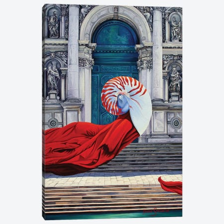 The Mind Of Evolution Canvas Print #GST97} by Graeme Stevenson Canvas Artwork