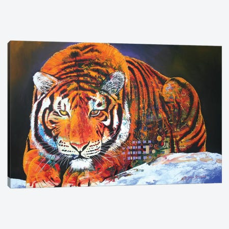 The Stalk Canvas Print #GST99} by Graeme Stevenson Canvas Art Print