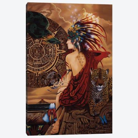 Aztec Dawn Canvas Print #GST9} by Graeme Stevenson Canvas Art