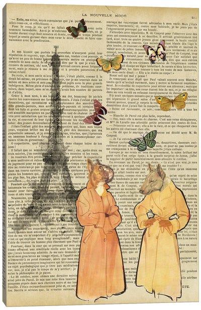 Life In Paris Canvas Art Print