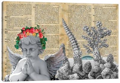 The Angel Canvas Art Print