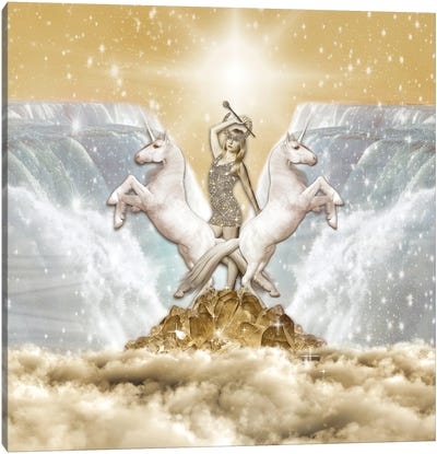 The Chariot Canvas Art Print